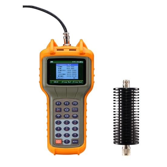 4G Absorb Portable RF Power Meter RF-3000 ( 2~4000 MHz) Digital-communication Test Equipment