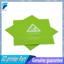 1pc 300x300mm 3D Printer Heat Hot Bed Sticker Green Printed Hot Bed Surface Sticker Part For TEVO Tornado Lulzbot Taz6 Printer(China)