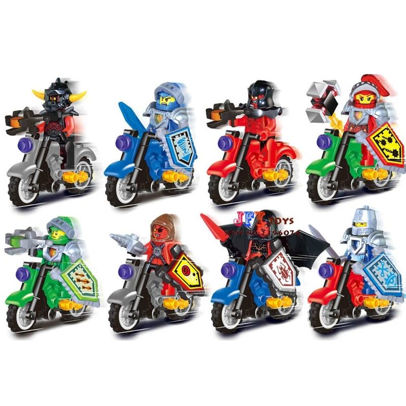 80pcs starwars superhero Ninja tornado motorcycle building blocks bricks friends for house games kids children toys iluminador