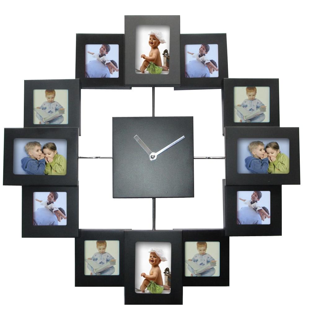 achetez en gros cadre photo horloge murale en ligne des grossistes cadre photo horloge murale. Black Bedroom Furniture Sets. Home Design Ideas