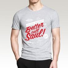 Better Call Saul Men T-Shirts 100% Cotton