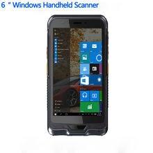"""מקורי Kcosit K62H 6 """"כף יד מסוף מחשב Windows 10 מחשב לוח מחוספס עמיד למים טלפון נייד GPS 2D לייזר סורק ברקוד"""