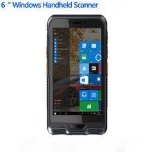 """Original Kcosit K62H 6 """"Handterminal PDA Windows 10 Robusten Tablet PC Wasserdicht handy GPS 2D Laser Barcode scanner"""