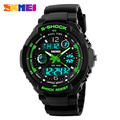 Skmei Men Sports Watches Digital LED Quartz Military Wristwatches rubber strap Luxury Brand relogio watch 0931
