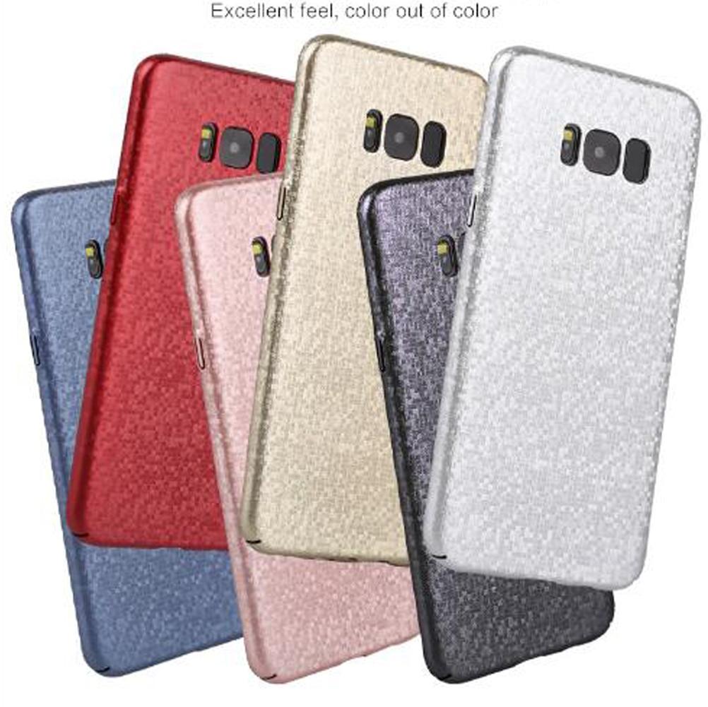 Для Samsung Galaxy Note 8 чехол тонкий 3d углерода Волокно Узор Жесткий акрил противоударный Телефонные Чехлы для мангала для <font><b>S7</b></font> <font><b>Edge</b></font> S8 плюс