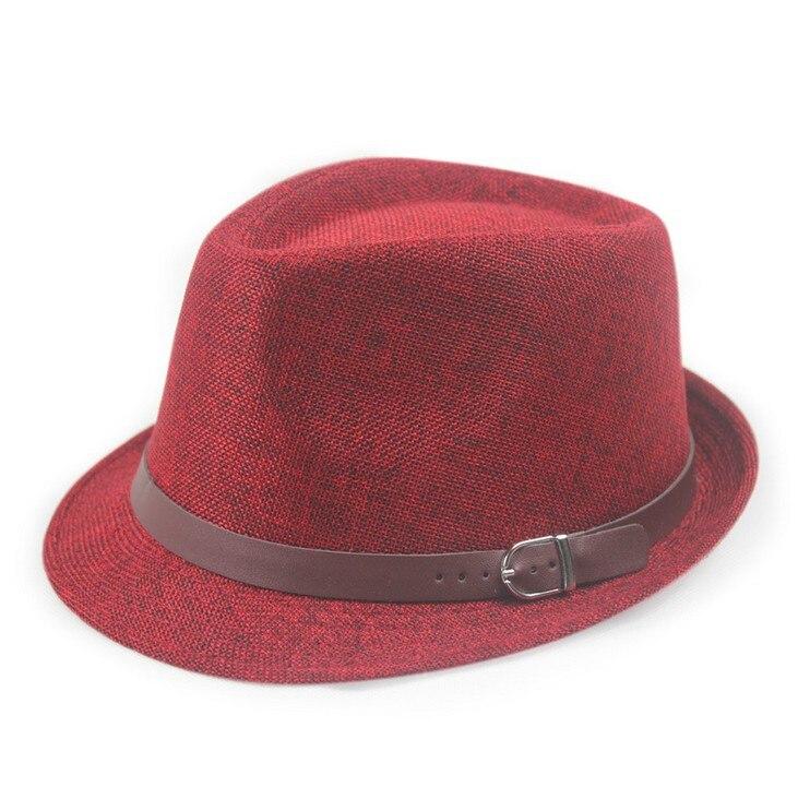 Kagenmo летняя крутая Солнцезащитная шляпа вечерние Кепка джентльмена уличный танец шляпа 11 цветов 1 шт - Цвет: 6