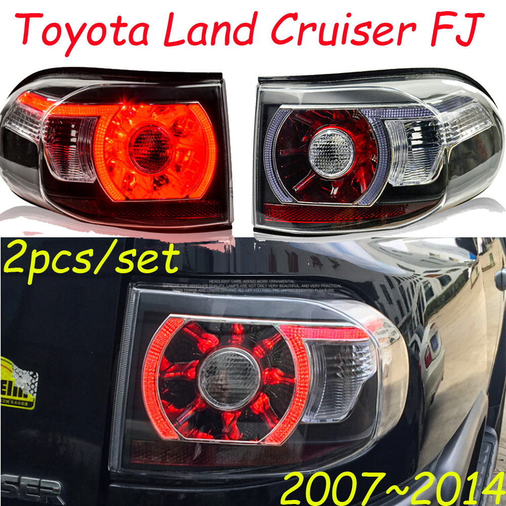 Cruiser FJ taillight,2007~2014;Free ship!LED,prado tail light,Cruiser FJ rear light,Cruiser FJ fog light;Cruiser FJ nyne cruiser