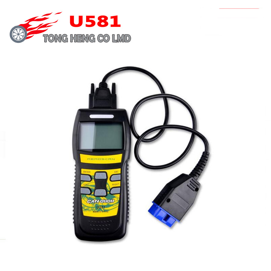 U581 Professional SUPER Diagnostic Scan Tool CAN OBD2 OBD II Code Scanner Reader