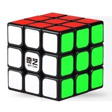 QIYI puzzle 3x3x3 Magic Stickers kocka Speed Puzzle kocka vicces játék puzzle enfant Magic Cube Toy oktató játékok gyerekeknek