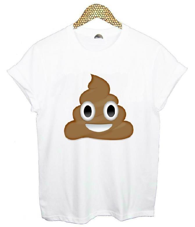 HTB1TLCXHVXXXXbWXFXXq6xXFXXXl - Emoji Smile Women T Shirt