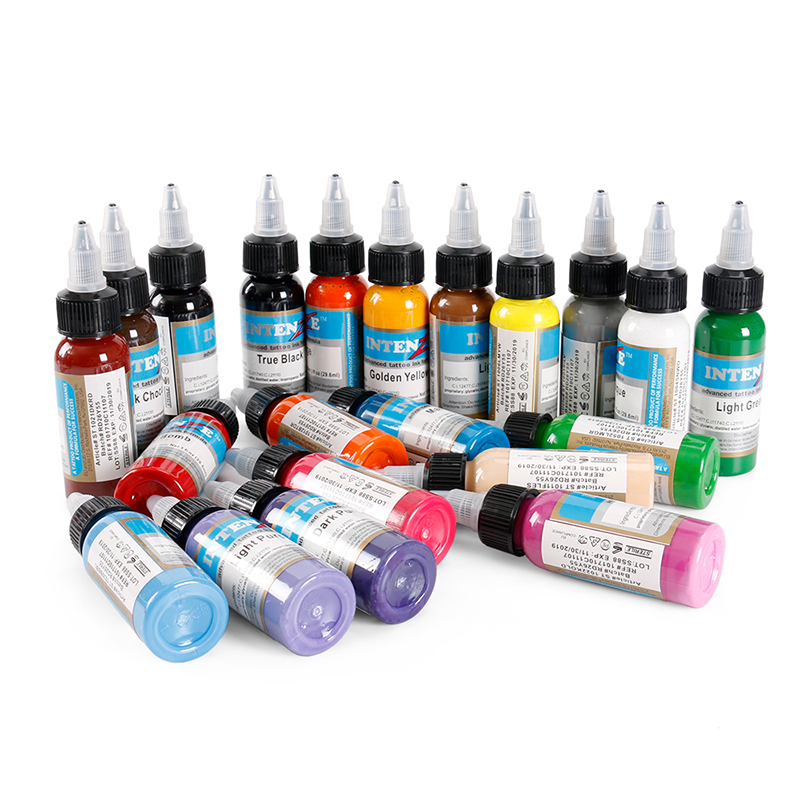 30ml Body Paint Color Permanent Makeup Tattoo Ink 21 Colors Set Micro Pigment Lasting Long Body Tattoo Art Beauty Tools30ml Body Paint Color Permanent Makeup Tattoo Ink 21 Colors Set Micro Pigment Lasting Long Body Tattoo Art Beauty Tools