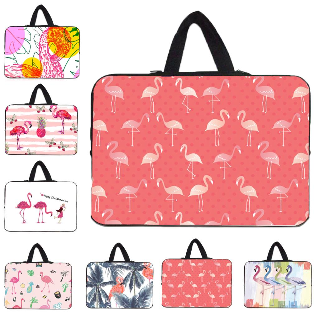 Flamingo Laptop Bag 17 12 Notebook Chromebook Case For Macbook Chuwi Xiaomi LapBook <font><b>15.6</b></font> 14 13 Tablet 10.1 <font><b>Funda</b></font> <font><b>Portatil</b></font> <font><b>15.6</b></font> image