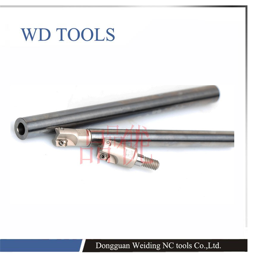 solid carbide MFT15-14-200-M8 Anti Shock Carbide Steel CNC Milling Shank MFT boring bar M8 threading bar