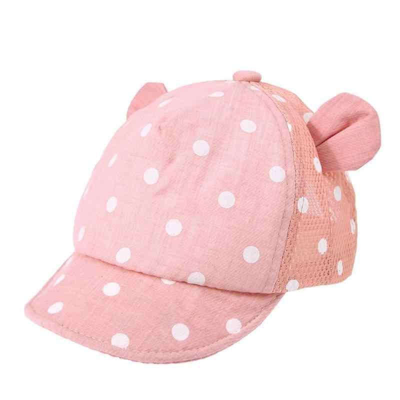 ... Dot Baby Caps New Girl Boys Cap Summer Hats For Boy Infant Sun Hat With  Ear ... 4a50cb600d7a