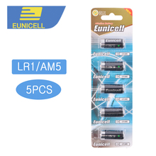 5PCS N Size batteries LR1 AM5 E90 MN9100 1.5V Alkaline duty Battery Primary and Dry Batteries for Speaker Bluetooth Players