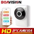 HD 720 P Wi-Fi Ip-камера 180 Градусов Панорамный Вид Ночного видение Мини Беспроводной Бэби-Монитор 1.0MP CCTV Смарт-Камеры Безопасности P2P