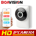 HD 720P Wifi IP Camera Panoramic 180 Degree View Night Vision Mini Wireless Baby Monitor 1.0MP CCTV Smart Camera Security P2P
