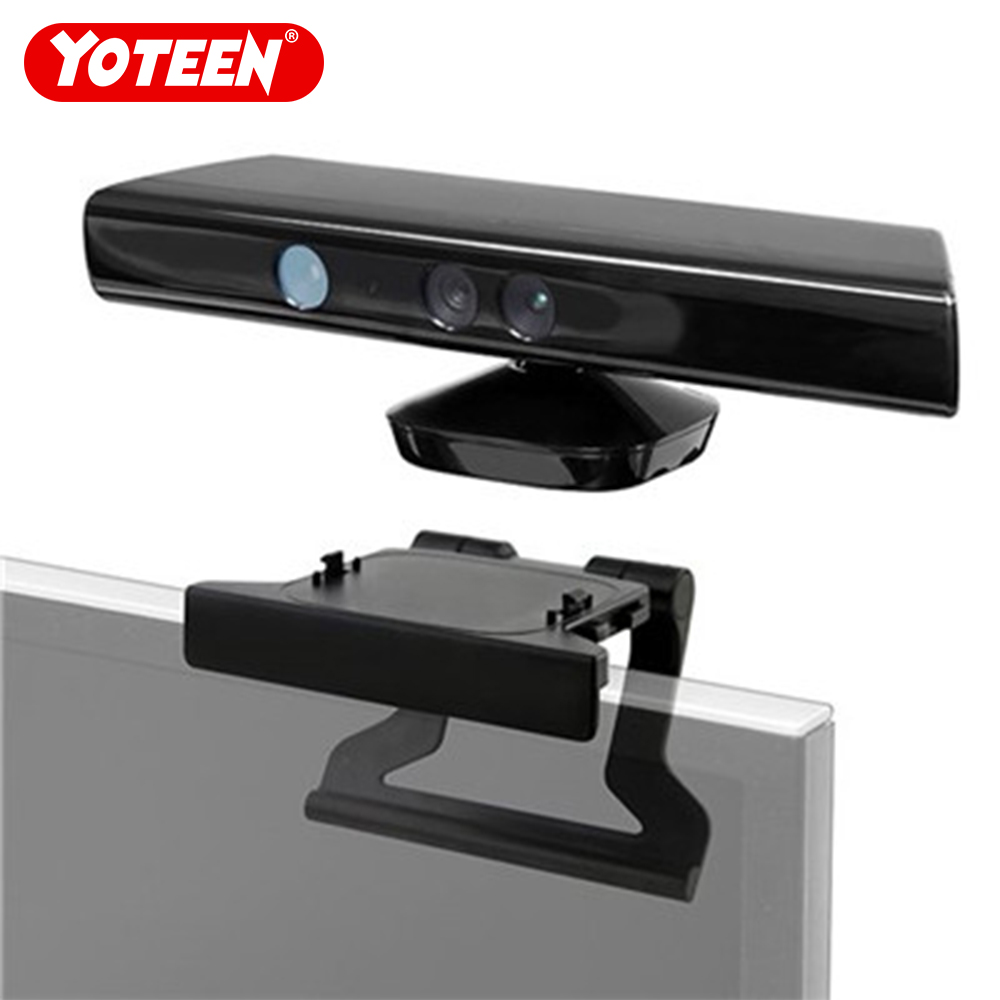 Bracket For Xbox 360 Kinect Sensor TV Mounting Clip For Microsoft Xbox360 Kinect Sensor Adjustable Mount Mounting Stand Holder