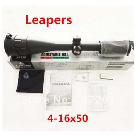 UTG Leapers 4 16x50 AO Mil dot Illuminated Zero Lock/Reset