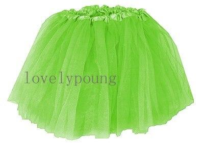 Дешевые юбка-пачка, юбка для девочки в акционной цене, девушки юбка - Цвет: green color
