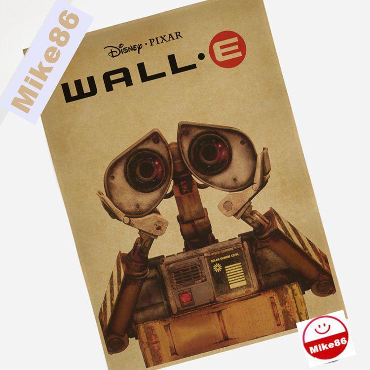 mike86 vintage robot affiche rtro art mur dcoration de la maison 30x42 cm bm - Affiche Garcon Robot