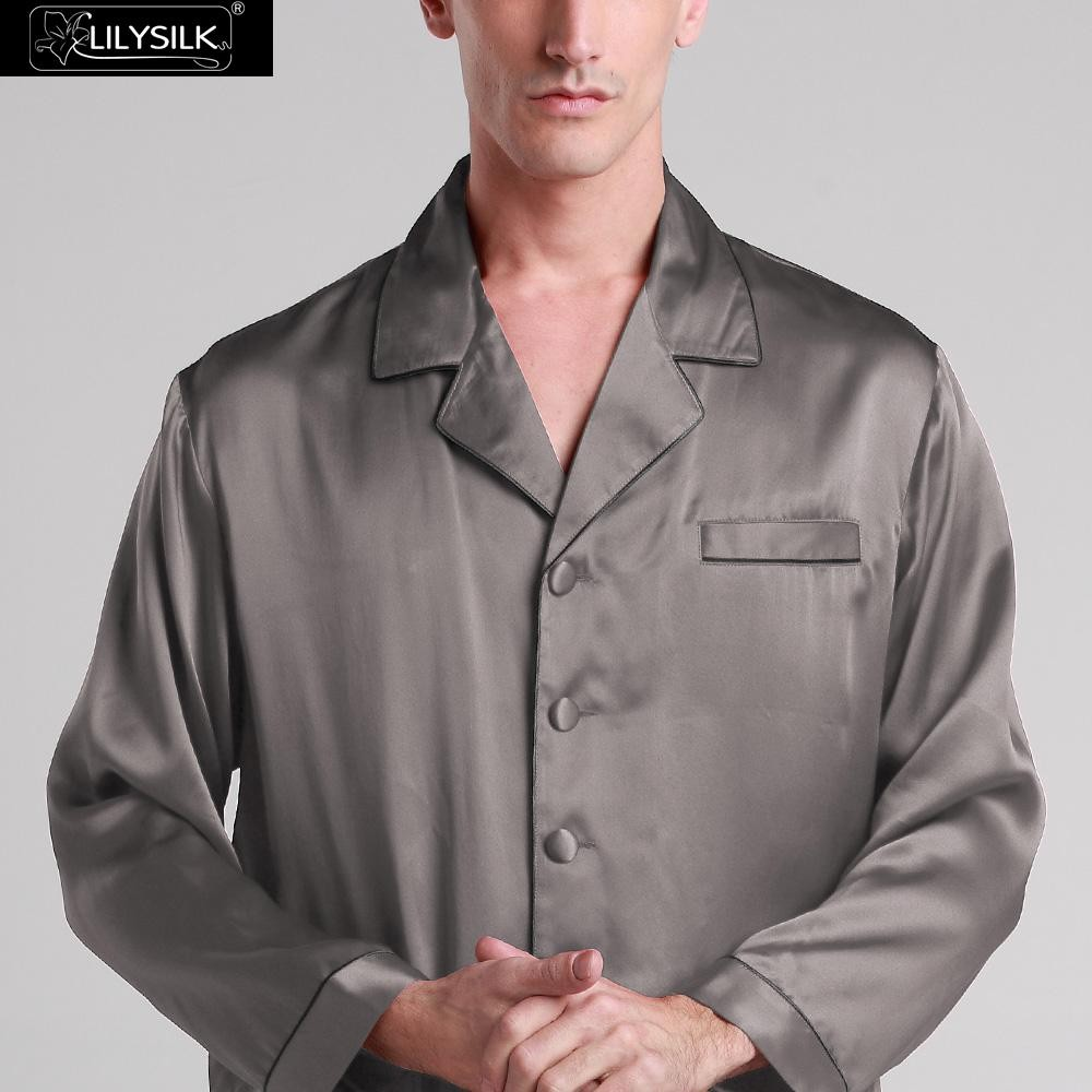 1000-dark-gray-22-momme-long-silk-pyjamas-set-with-contrast-trim-01