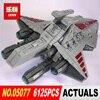 Lepin 05077 6125PCS Star Wars Classic The Ucs ST04 Republic Cruiser Educational Building Blocks Bricks Toys