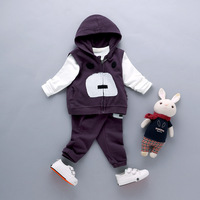 2016 Babys Boys And Girls Baby Three Piece Suit Cotton Sweater Clothing New Spring And Autumn