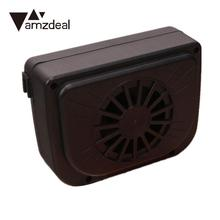 amzdeal Cars Ventilator Solar Air-Vent Cooling Fan Full Automotive Mini Air Conditioning Ventilating Fan