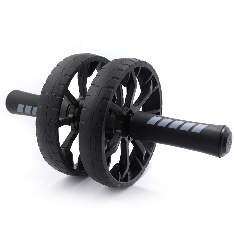 New No Noise Abdominal Wheel Keep Fit Wheels Ab Roller With Mat For Fitness Equipment Exerciser Fitness Workout Gym
