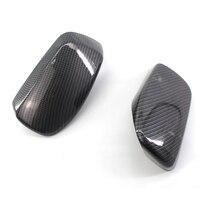 Real Carbon Fiber Side Mirror Cap Housing Cover for BMW E60 E61 E63 E64 04 08 L+R