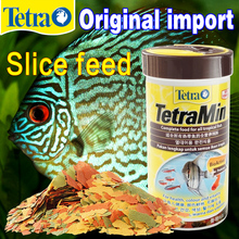Germany Tetra Original Tropical Fish Flake  Feed Small Tropical Fish Hyperchromic Slice Feed Fragile Delicious And Nutritions malaysia jianrong 8 guppy fishes tropical fish lamp small fish special groats slow sinking feed