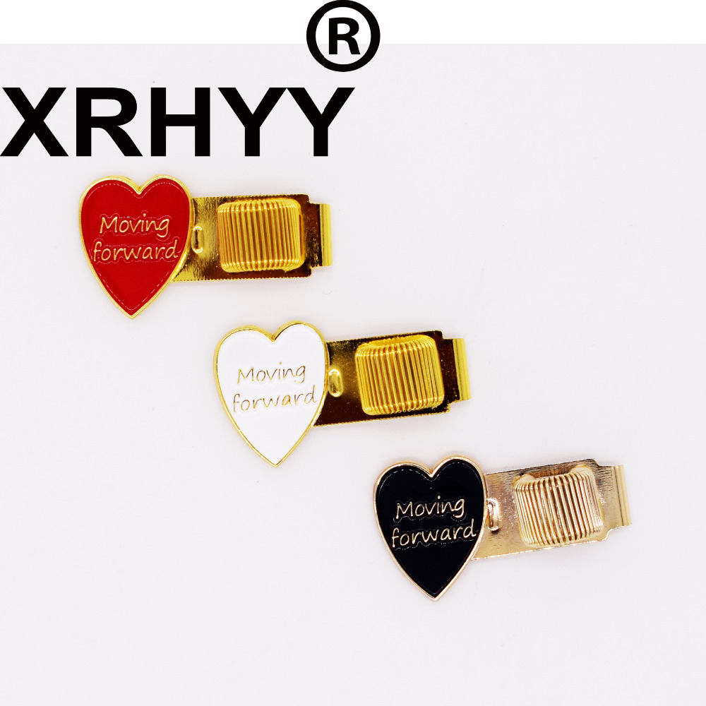 XRHYY Stainless Pen Loop Holder Clips,Durable Plating Metal,Unique Cartoon Design,Fits Almost All Pen Size