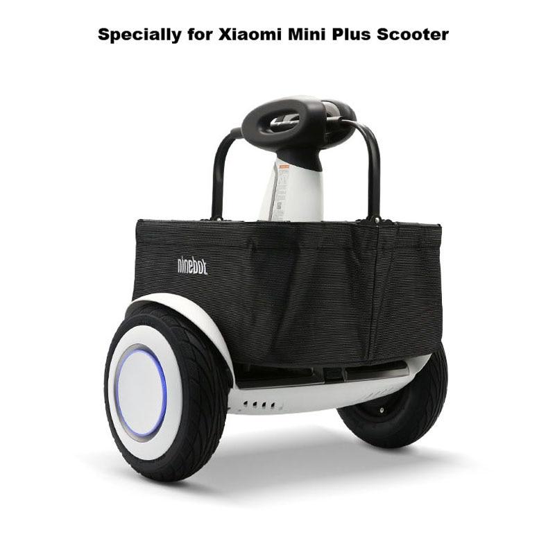Original Xiaomi Mini Plus Scooter panier à provisions grand porteur panier Balance Scooter panier pour XIAOMI Mini PLUS Scooter