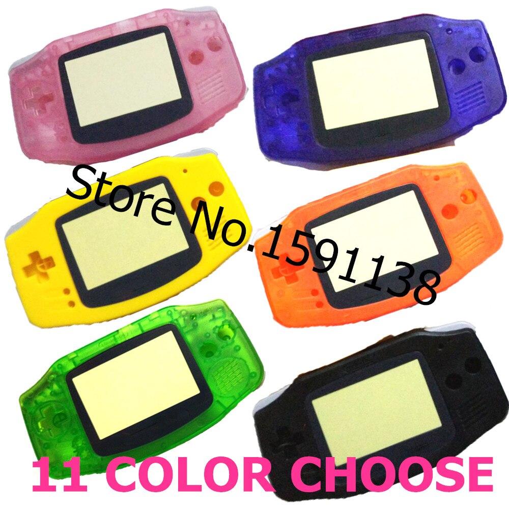 Game boy color kabel - Ograniczona Sprzeda 11 Kolor Wybra Dla Nintendo Game Boy Advance Wymiana Wyczy Zielona Obudowa Shell Case
