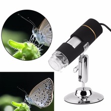 Digital 50-500X 2MP USB 3.0 8LED Microscope Endoscope Video Camera Magnifier Hot new arrival