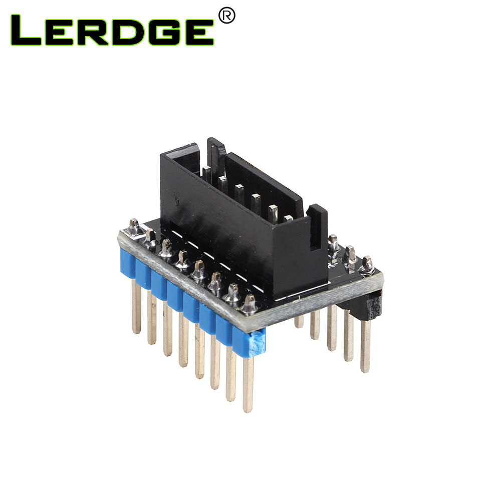 LERDGE 3D Printer Board Adapter Module External High Power Switching Module for Microstep Driver with 3D Printer Part for lexmark cx510de toner cartridge chip kcmy set