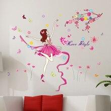Fairy Themed Wall Sticker