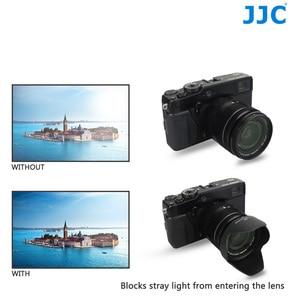 Image 4 - JJC Black Hood Lente Da Câmera para FUJINON F2.8 XF14mm R/R LM OIS LENTE XF18 55mm F2.8 4