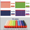 2016 New HO Brief 1000pcs 7.2cm Refill Bullet Darts for Nerf N-strike Elite Series Blasters Kid Toy Gun OH 9 Colors