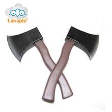 Lensple Хэллоуин Игрушка AX безопасности мягкая кожа клей Игрушечные лошадки костюм карнавальных трюк реквизит