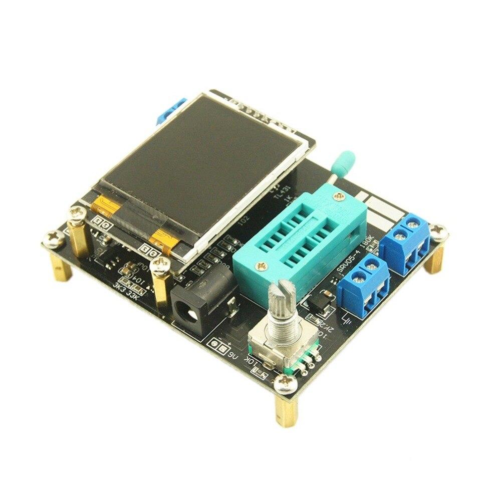 Componente Digital LCD GM328A Transistor Tester medidor gráfico Transistor Tester diodo de capacitancia ESR de medidor de frecuencia