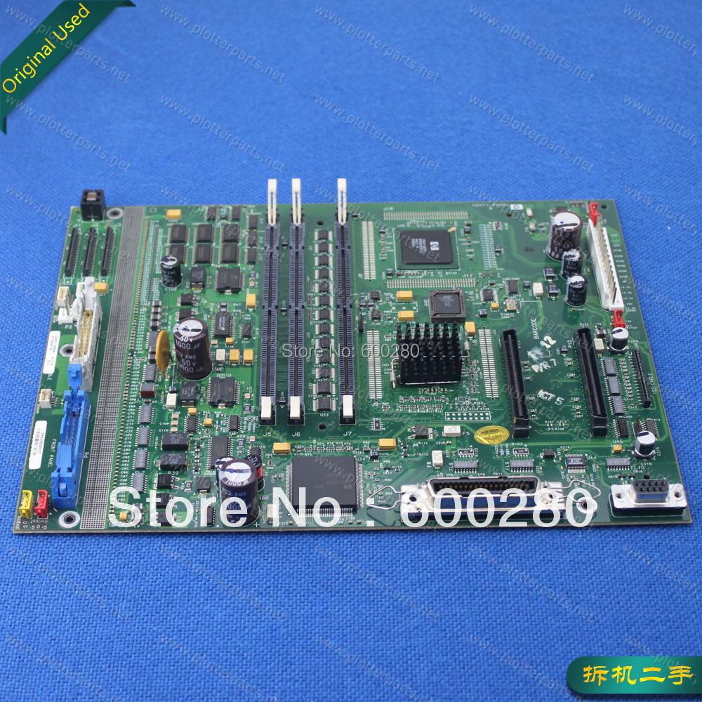 C6071-60001 Main logic PC board for HP Designjet 1050 1055 used