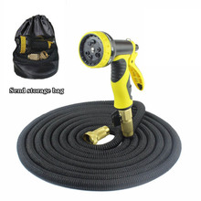 Best Selling Garden Watering Pipe Wear-Resistant Telescopic Hose flexible Rubber Car Wash Irrigation Supplies