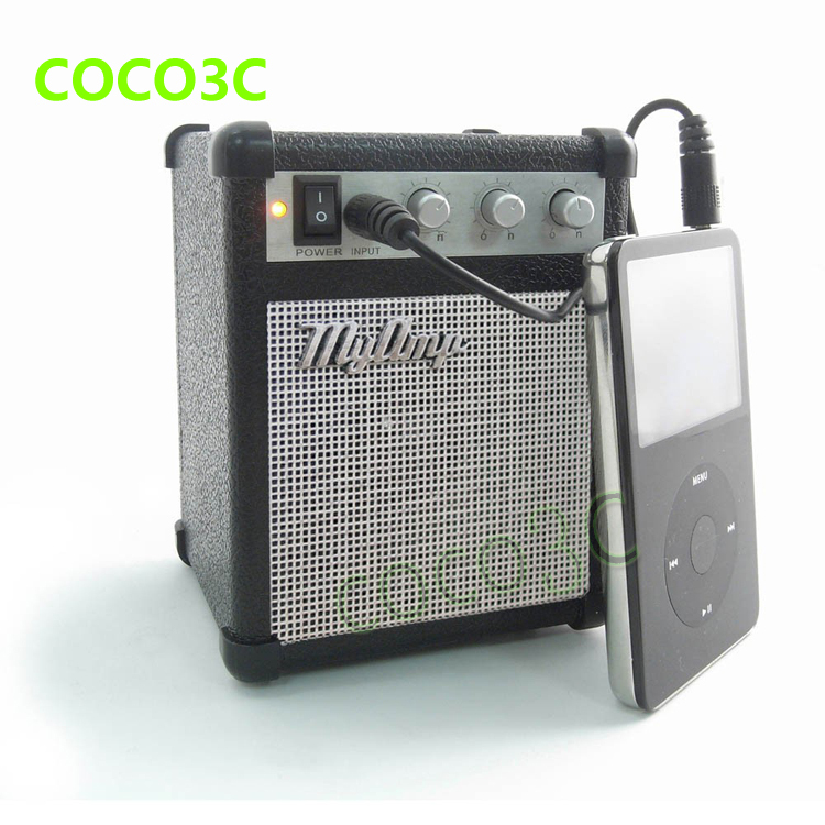 buy free shipping mini speaker myamp replica version of guitar amplifier. Black Bedroom Furniture Sets. Home Design Ideas