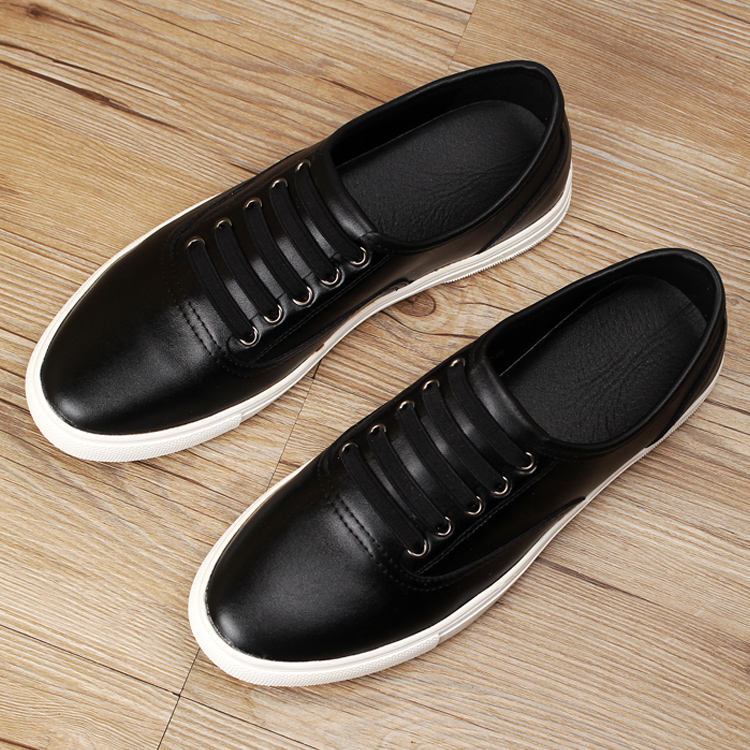 ФОТО new 2016 men genuine leather flat casual shoes brogues shoes men loafers cool guys white hip hop shoes size 39-43