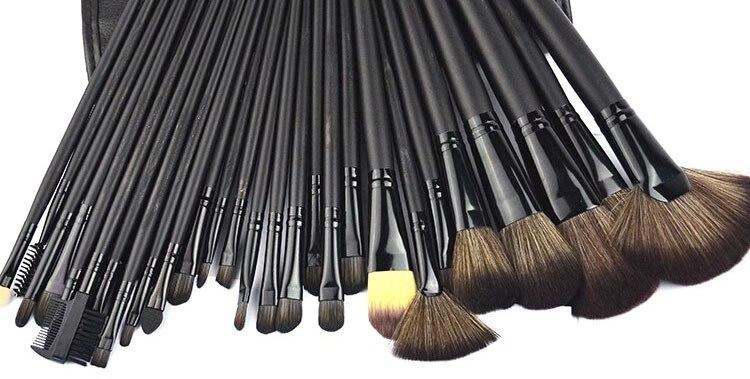 Makeup Brushes Eyebrow Professional  Eyeshadow 32 set makeup brush+Kit Case