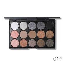 popfeel smoky eyeshadow palette Pearlescent matte eyes makeup pigment cosmetics