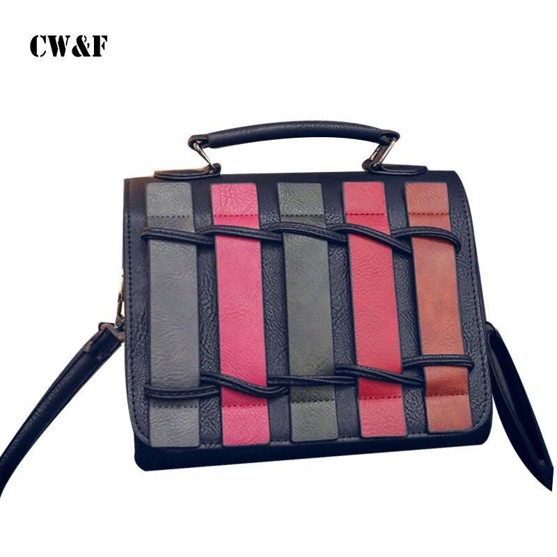 d023cb95487b2 Yeni gelmesi satış 2018 moda Düz Vintage kapak Kadın omuz messenger çanta  kadın tote crossbody çanta PU deri çanta