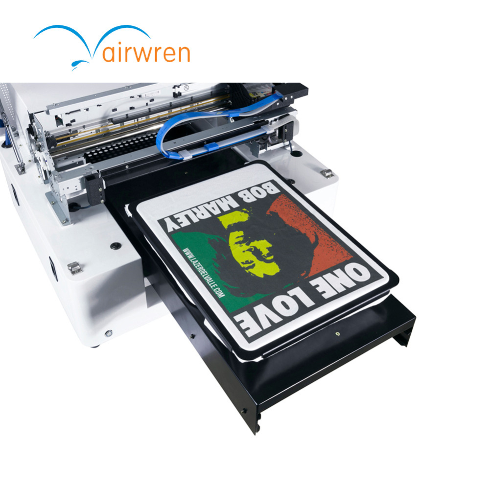 2018 Dependable Performance Small Flatbed A3 Sizes T Shirt Printer